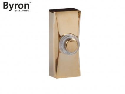 Universal Klingeltaster 1Familienhaus, Nickel gebürstet, Klingelknopf beleuchtet