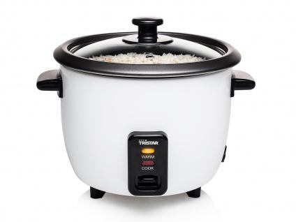 Elektrischer Reiskocher Reisgarer Dampfgarer 0, 6 Liter 300Watt Warmhaltefunktion
