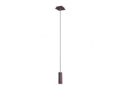 Pendelleuchte für Wohnzimmer, Schlafzimmer, Küche & Flur aus Metall, rostfarbig - Vorschau 2