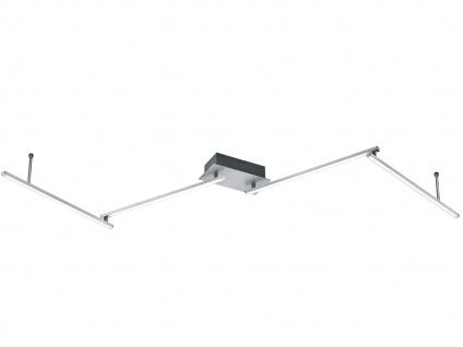LED Deckenleuchte HIGHWAY Aluminium gebürstet Acryl weiß B. 180 cm - Vorschau 2