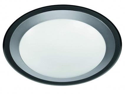 Flache LED Deckenlampe rund Ø33cm Weiße Beleuchtung für Arbeitsfläche in Küchen