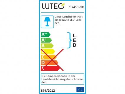 2er Set Außenwandleuchte mit Bewegungsmelder IP65 drehbar LED Wandleuchten - Vorschau 4