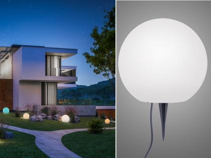 LED Kugelleuchte für den Garten Strom Ø40cm smarte Lichtsteuerung WIZ Dekokugeln