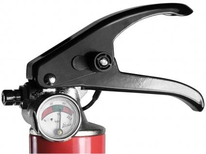 Pulverlöscher Feuerlöscher 2kg, Brandklasse A, B, C, Manometer Halterung - Vorschau 3