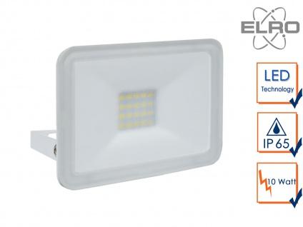 Strahler weiß Baustrahler 10W LED 5000K Scheinwerfer Arbeitsleuchte Flutlicht