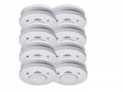 10er Set ELRO Rauchmelder 10 Jahre Batterie VdS Zertifiziert, Küchen geeignet - Vorschau 2