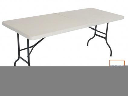 Klapptisch Campingtisch Gartentisch Esstisch Falttisch Biertisch klappba - Vorschau 1