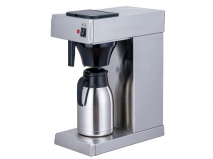 Gastro Kaffeemaschine Thermoskanne 2 Liter - Profi Filter Kaffeemaschine