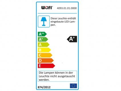 LED-Wandleuchte Chrom / Acrylglas, Schalter, Wofi-Leuchten - Vorschau 4