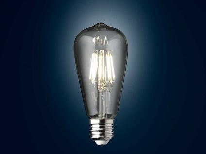 Filament LED Birnenform dimmbar E27 Leuchtmittel Vintage 7 Watt 800Lm Sparlampen