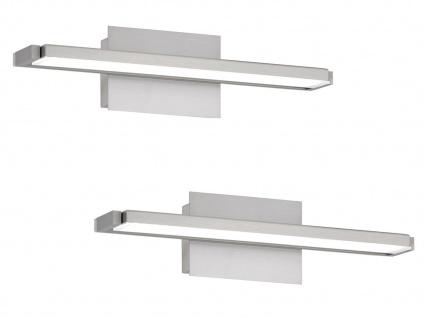 Verstellbares LED Wandleuchten 2er Set 40cm mit Schalter für Dimmen Farbwechsel