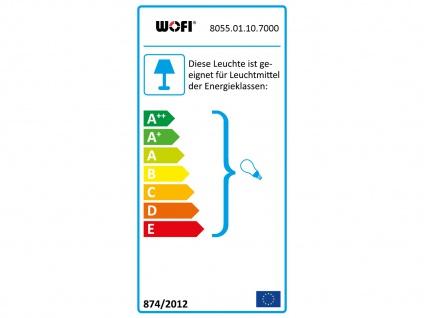 Schwarze Außenleuchte mit Erdspieß oder Außenwandleuchte GU10, Garten Wegelampe - Vorschau 3