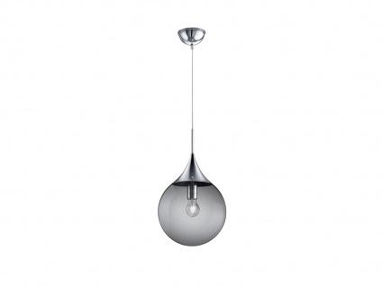LED Pendelleuchte Rauchglas Kugellampe für über Esstisch Galerie Esszimmer Loft - Vorschau 2