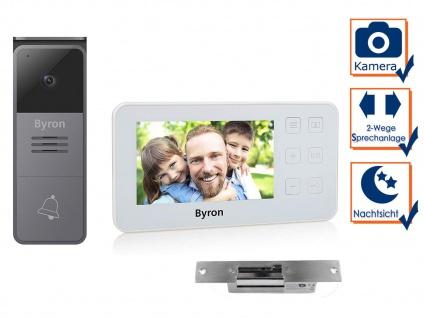 Einfamilienhaus Video Türsprechanlage mit Kamera, 4, 3 Zoll Display & Türöffner
