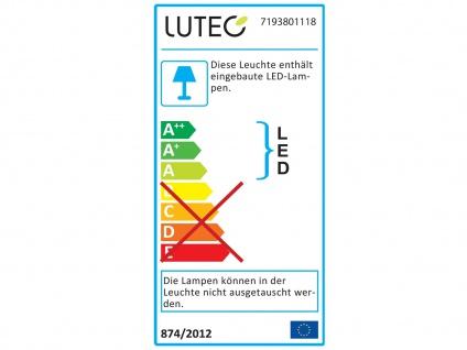 Hochwertige Outdoor Stehlampen SET 2 drehbare LED Wegleuchten ALU Anthrazit IP54 - Vorschau 3