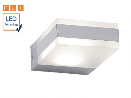 Eckige Design LED Wandleuchte ALINE, Wohnzimmerlampe Flurlampe Wandlampe modern