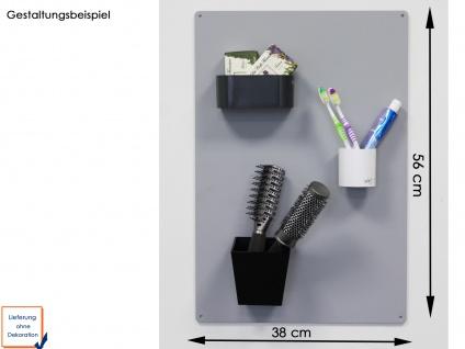 Wandaufbewahrung, Set aus Magnettafel und 3 verschiedenen Töpfen, KalaMitica