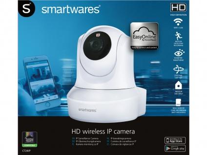 Wifi IP-Überwachungskamera Netzwerkkamera WLAN Nachtsicht App für IOS Android - Vorschau 4