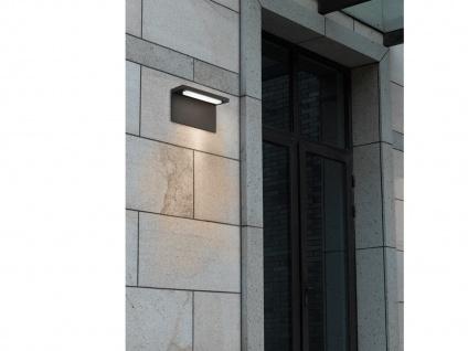 Moderne LED Außenwandleuchten Anthrazit - 2er Set Terrassenbeleuchtung Wandlampe - Vorschau 4