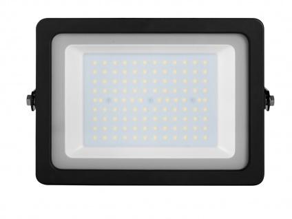 LED Strahler Aluminium 100W IP65 Fassadenbeleuchtung Wandstrahler außen Fluter - Vorschau 4