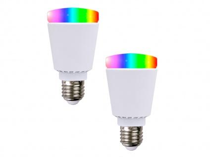 2er-Smart LED Bulb Glühbirne Bluetooth Farbwechsel Stimmungslicht App-Steuerung - Vorschau 2