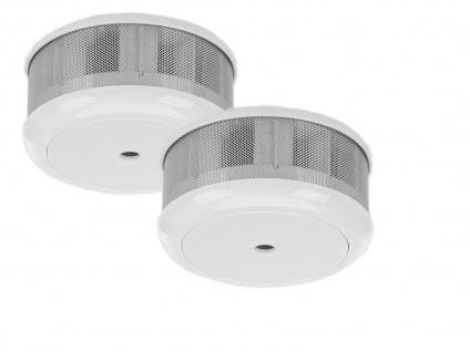 2er-Set Mini 10-Jahres Rauchwarnmelder VDS & DIN EN14604/ Maße nur 75 x 35 mm - Vorschau 2