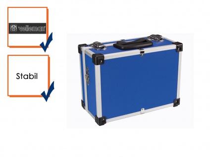Werkzeugkiste Werkzeugkasten Aluminum Case 32x23x15, 5cm blau