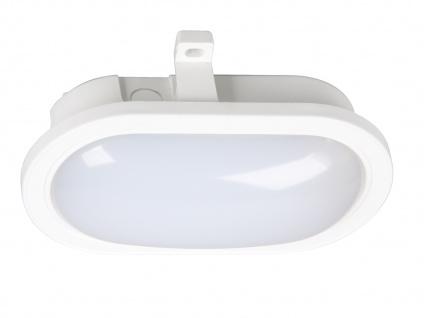 LED Wandleuchte Außenleuchte weiß, 450 Lumen, 4000 Kelvin, IP44 - Vorschau 3