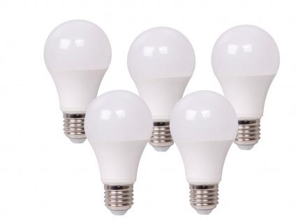 5er Set LED Leuchtmittel 9 Watt, 806 Lumen, E27-Sockel, 3 Weiß-Stufen wählbar - Vorschau 2