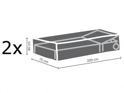 Gartenmöbel Schutzhüllen Set 200x75cm für Sonnenliegen, Abdeckhauben Gartenliege - Vorschau 2
