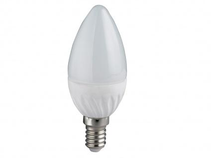 LED Leuchtmittel 5 Watt für E14 Fassung 400 Lumen warmeiß, Ø3, 7cm, extern dimmbar