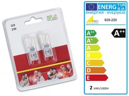 Grosse LED Hängeleuchte bis 150cm höhenverstellbar, 2 dreh+schwenkbare Spots - Vorschau 4