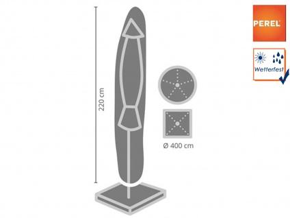 Schutzhülle für Sonnenschirme bis Ø 400cm, wasserdicht und witterungsbeständig