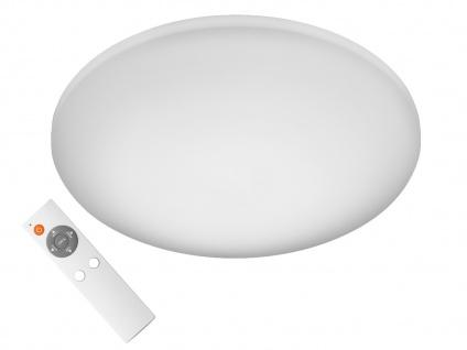 LED Deckenlampe rund mit Fernbedienung dimmbar Farbwechsel für Bad Schlafzimmer