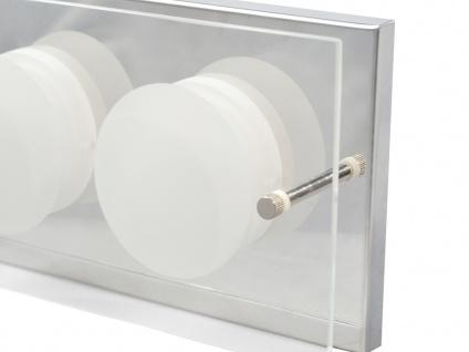 2er Set 2-flammige LED Wandleuchte ENVY, 11, 5 x 22 cm, Wandlampe LED Wandleuchte - Vorschau 5