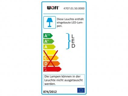 LED Außenwandleuchte Ø 18cm, Aluminium grau, Wofi-Leuchten - Vorschau 3