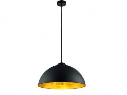 Trio Hängelampe Romino II schwarz matt Pendelleuchte Metallampe LED