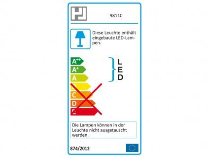 LED Schreibtischleuchte Goldfarbig Kopf neigbar USB Anschluß Bürolampen Diele - Vorschau 3