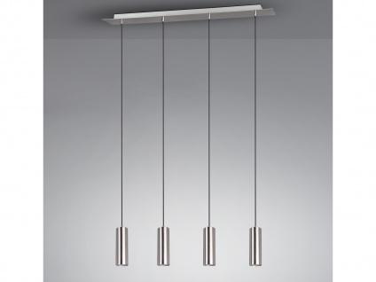 4 flammige Innenlampe, Silber mattes Pendel für Wohnraum, Esszimmer, mit 5W LEDs - Vorschau 1