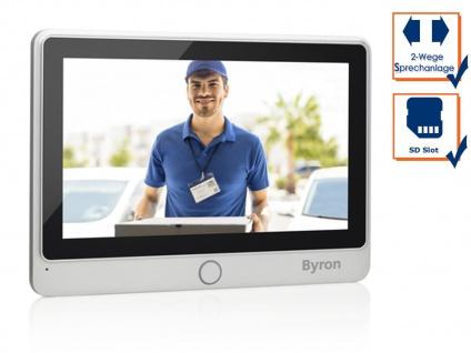 Zusatz Monitor mit Touchscreen für Byron DIC Video Türsprechanlage 24112 & 24122