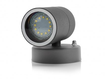 4er SET Downlight Außenwandleuchten IP44, inkl. 3W LED 230 Lumen, GU10-Sockel - Vorschau 3