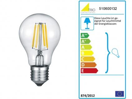 Einflammige LED Rauchglas Pendelleuchte Hängelampe Industrial für über Kochinsel - Vorschau 4