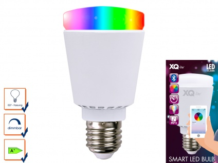 Smart LED Bulb Glühbirne Bluetooth, Farbwechsel, Stimmungslicht App-Steuerung
