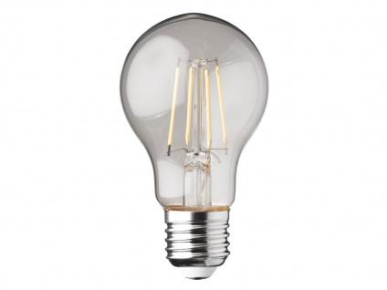 Filament LED dimmbar E27 Leuchtmittel Glühlampe Klares Glas 4W 350lm 2700K - Vorschau 2