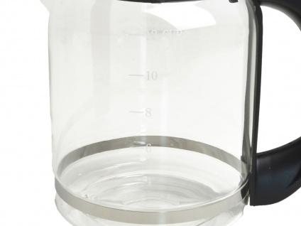 Glaskanne für DOMO Kaffeemaschine DO417KT 1, 5 Liter - Ersatzkanne, Kaffeekanne - Vorschau 3