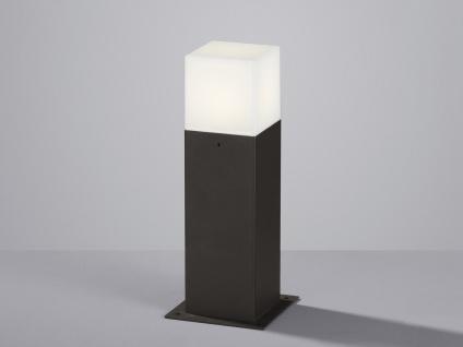 Moderne LED Sockelleuchte in Anthrazit 30cm - Wegeleuchten Terrassenbeleuchtung