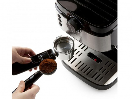Espressomaschine mit Milchaufschäumer & Milchkännchen, Siebträger Kaffeemaschine - Vorschau 5
