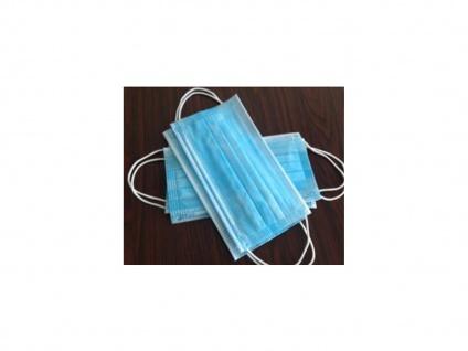 50 Stück Einwegmasken 3 lagig Hygienemasken Mundmasken Atem Behelfsmasken - Vorschau 4