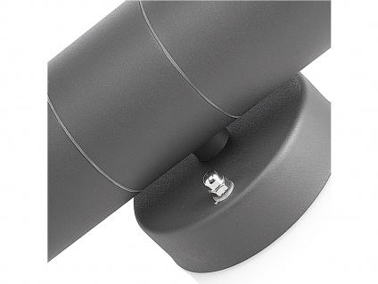4er-Set Up-/Down Außenwandleuchten IP44, inkl. 2 x 3W LED 230 Lumen, GU10-Sockel - Vorschau 5