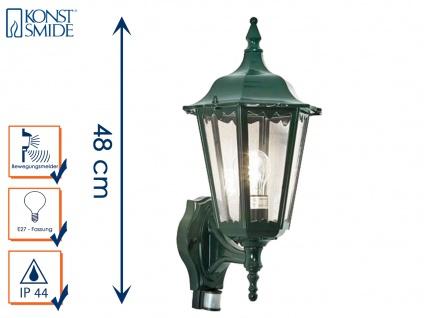 Wandleuchte mit Bewegungsmelder Wandlampe Aussenwandleuchte grün